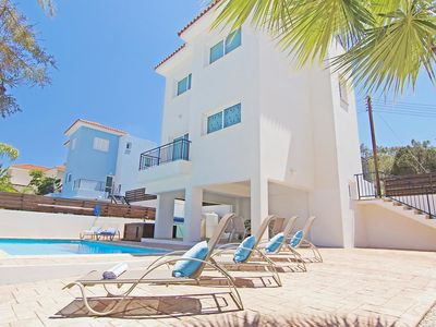 Photo for This 2-bedroom villa for up to 4 guests is located in Protaras and has a private swimming pool, air-