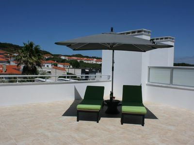Photo for SPLENDID NEW HOLIDAY APARTMENT FOR RENT IN THE BAY OF SAO MARTINHO DO PORTO