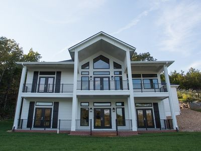 Photo for Old Kinderhook, Golf, newly built, waterfront home, 6 Bedrooms