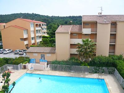Photo for Apartment 362 m from the center of Sanary-sur-Mer with Internet, Pool, Parking, Terrace (103595)