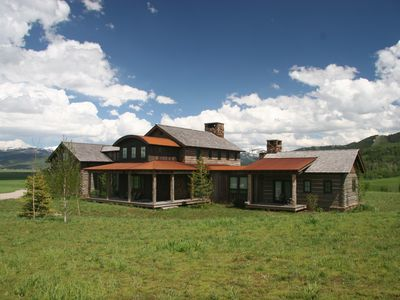 Photo for Beautiful Custom Home on 5 Acres Close To National Forest & Jackson Hole!