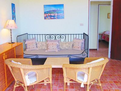 Photo for Apartment 168 m from the center of Taormina with Parking, Internet, Pool, Garden (120705)