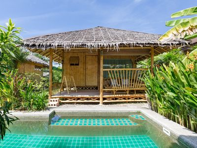 Photo for bungalow of luxe with spa