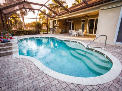 Photo for Its all about the POOL!! sleeps 8 /  SW Cape House!!