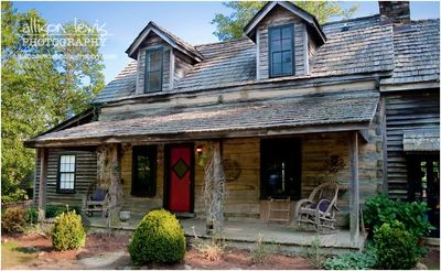 Rustic cabin in central Alabama, so private- yet so convenient! -  Wilsonville