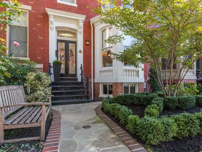 Photo for Grand 4BR historic town home on tree-lined street
