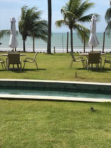 Photo for Excellent 3 bedroom apartment in gated community - Itacimirim - Ocean Front