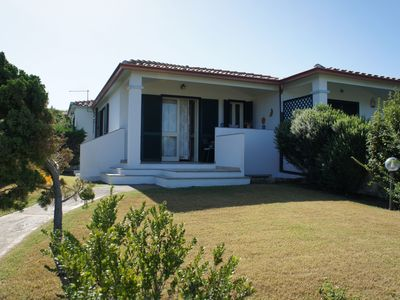 Photo for Charming House just 250 m from Le Saline Beach with Ocean View, Terrace & Garden