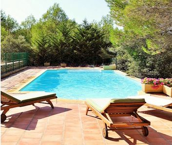 Photo for SPACIOUS VILLA WITH LARGE SWIMMING POOL ON A HECTARE