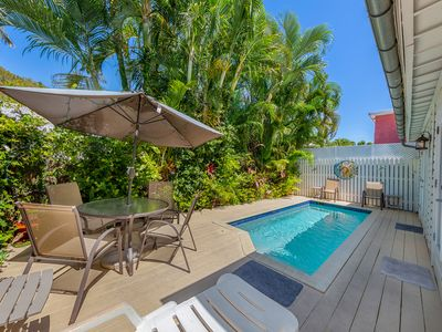 Photo for Old Town Key West classic w/ private heated pool and enclosed patio area