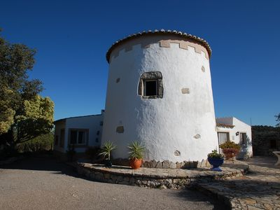 Photo for 107859/AL Villa on top of a hill, sleeps 4-6 with beautiful views