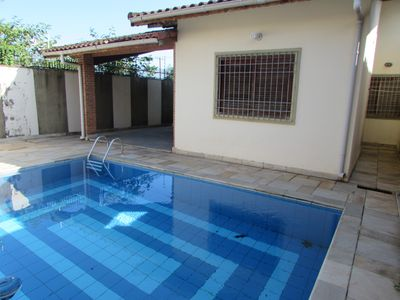 Photo for House with Pool and Barbecue - 2 Bedrooms - Jd. Icaraíba - Peruíbe / SP