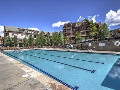 Photo for Summer Views of the Blue River from this wonderful condo with on-site pool & hot tubs.