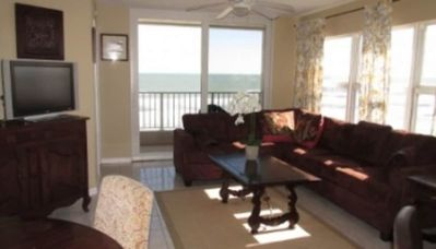 Photo for Direct Oceanfront  located on Traffic Free Beach - 2 BR 2 BA - South Point Condominiums 411