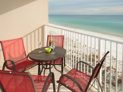 Photo for BEAUTIFUL BEACHFRONT!  PRICE ON THIS UPGRADED BEAUTY CAN'T BE BEAT.  BOOK NOW!