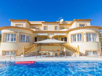 Photo for 8 bedroom Villa, sleeps 14 in Calpe with Pool and WiFi