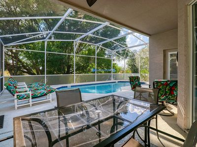 Photo for Private & spacious getaway w/ a heated pool, & pool spa - close to Disney