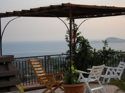 Photo for Italy, Formia (Castellonorato) - Panoramic Villa with small pool