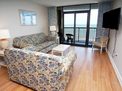 Compass Cove Mariner Tower 1020, Spacious 3 BR Ocean Front Condo with I/O Pools, Hot Tub, Lazy River and Kiddie Pool