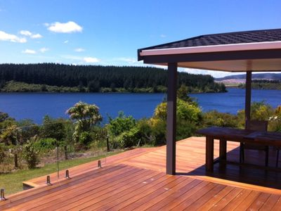 Photo for Absolute Lake Front Holiday Home