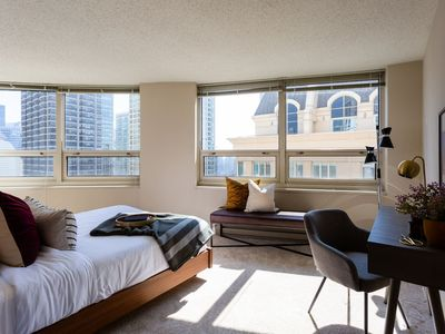 Photo for Domio | Navy Pier | Amazing 3BR Apt + Gym and Spa