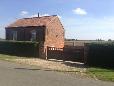 Photo for Cosy Refurbished Chapel with lovely views over open countryside.