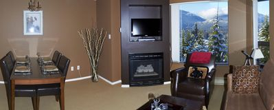 Ski-in, Ski-out, 180 Degree Mountain View, Luxury One-Bedroom Condominium