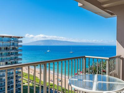 Photo for Kaanapali Beach Whaler - 11th Floor Ocean View Studio - Remodeled