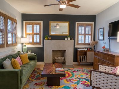 Photo for Exquisite Boutique South Congress cottage perfect for SXSW