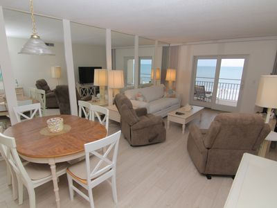 Photo for Stunning 4th Floor Ocean and Beach Views! Direct Oceanfront