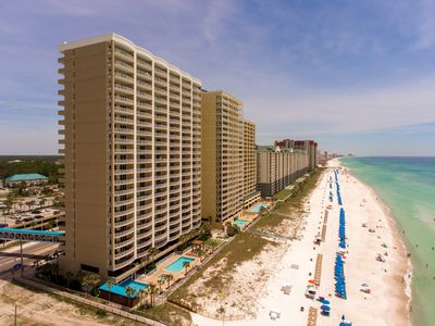 "Photo for Available(Oct.23-Oct.31)2 Master Suites on beach ""Penthouse"" $1225.w/Bch.Chair"