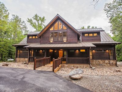 Deer Hollow - Grand Lodge, Creek Lot, Game Room, An Experience!