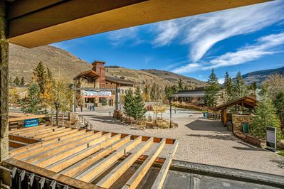 Amazing location in the heart of Lionshead Village.  Steps from the gondola