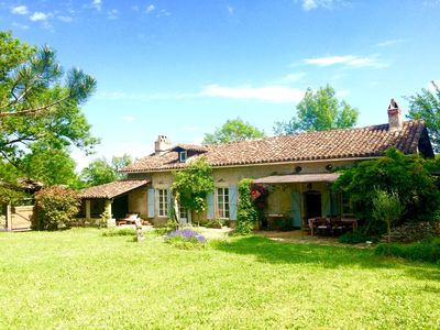 Photo for Charming Stone Farmhouse, child and pet friendly, with Pool And Magical View