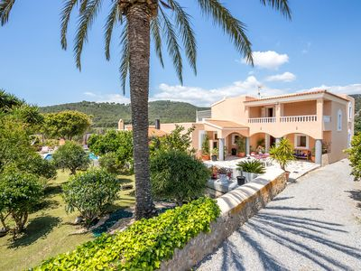 Photo for Villa Paquita is a  large villa very close to Playa den Bossa and Ibiza Town