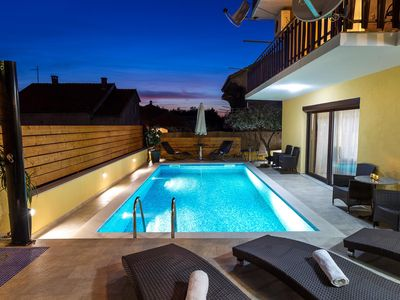 Photo for Holiday apartment with pool