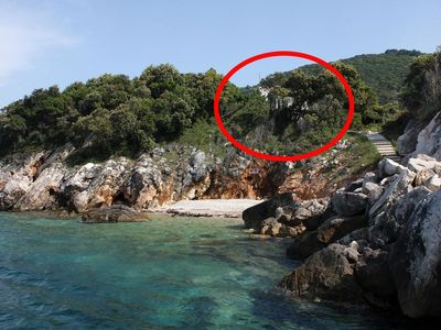 Photo for Two bedroom apartment near beach Kozarica (Mljet)
