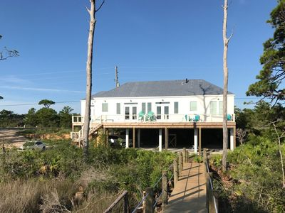 Photo for BEAUTIFUL BAY FRONT HOME WITH PRIVATE DOCK!