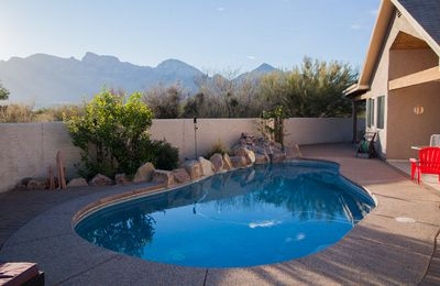 Photo for Private Oro Valley Retreat!  Pool, hot tub, 270* views on 1 acre, 3 br/2.5 ba