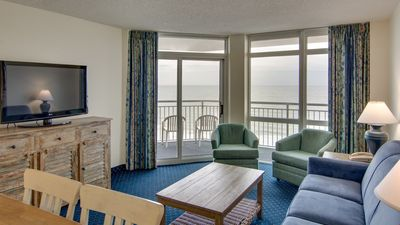 Photo for Oceanfront Suite for 10 + Balcony | 18 Fun Water Features On-Site!