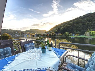 Photo for Apartment Burg Eltz with a sunny balcony on the banks of the Moselle