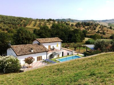 Photo for Country house with private pool in the hills of Abruzzo.