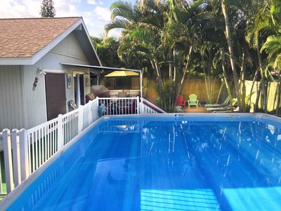 Photo for Pool, hot tub, a/c , huge lani, 1BL to beach & shops AVAIL JAN 30 TO FEB 6