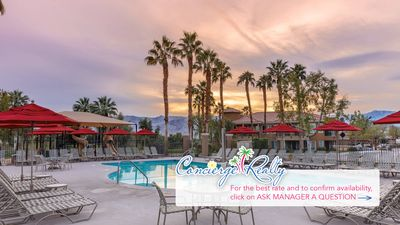 Photo for Marriott's Desert Springs Villas ll. One bedroom one bath villa. Reserve now!