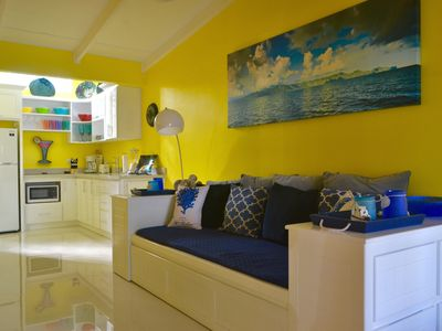 Photo for Bright, Sunny Jaco Beach Condo 2 Blocks To The Surf!