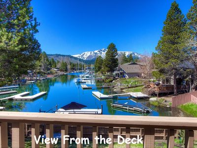 Photo for Waterfront, Views, Hot Tub, Bumper Pool, BBQ, Fireplace, Boat Dock (TKH1434)