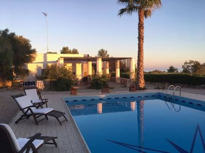 Photo for With pool and panoramic view - Villa Lido Marini