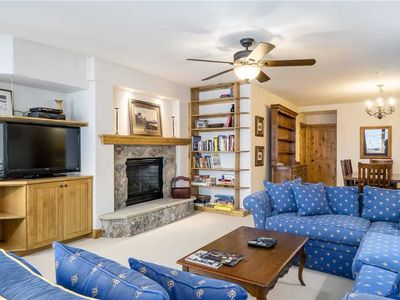 Photo for Updated Slopeside 3BD 3BA Location, Summertime Views. Pool and Hot Tub