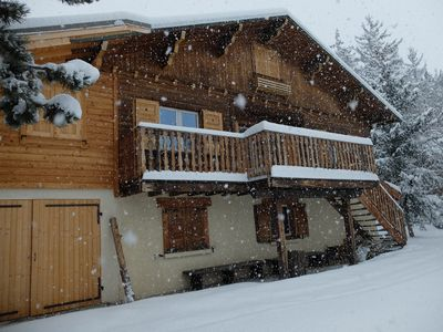 Photo for Big chalet - 400 m from the slopes
