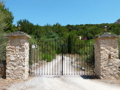 Photo for NATURAL STONE FINCA NEAR THE BEACH WITH POOL ON NATURE RESERVE 7000 SQM LAND